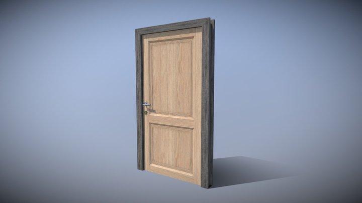 Simple Door 3D Model