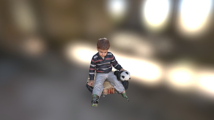 Child 3D Model