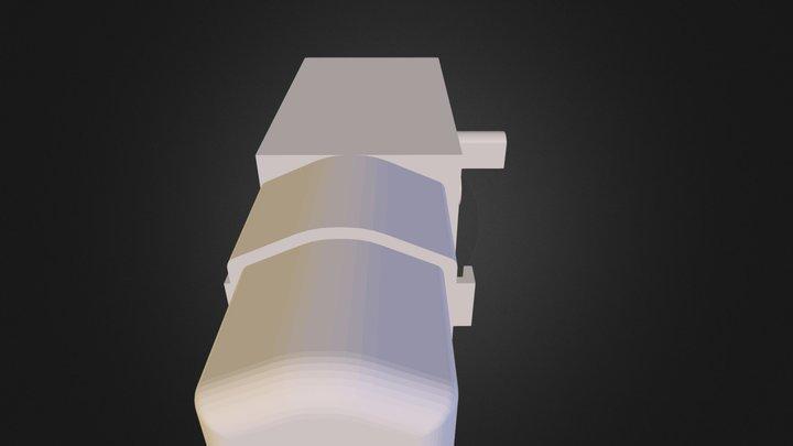 MOTORREDUCTOR PLÁSTICO DE UN EJE 3D Model