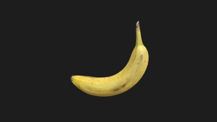 Banana Scan for Scale 3D Model