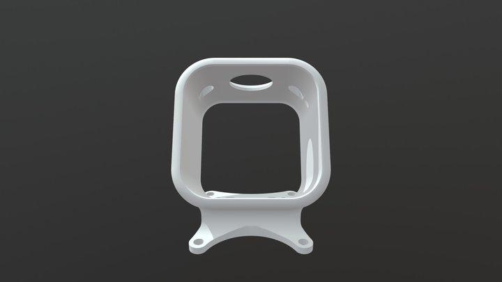 Wicked Quads - Phanta Go Pro Mount V4 3D Model