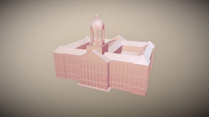 Klein Amsterdam: Paleis Op De Dam 3D Model