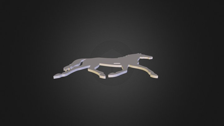 Right Side Horse 3D Model