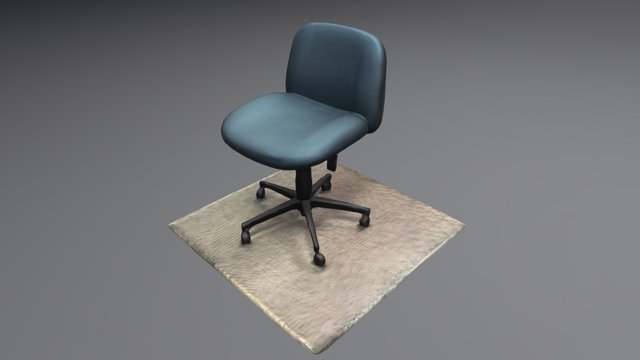 Office Chair 3D Scan 3D Model