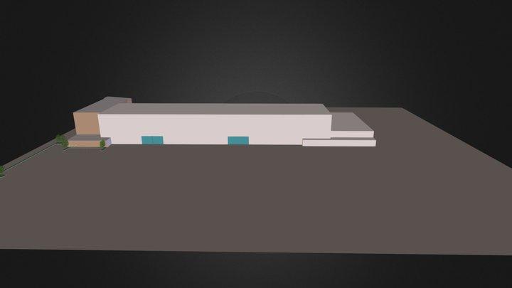 Auto Save Main Campus 3D Model