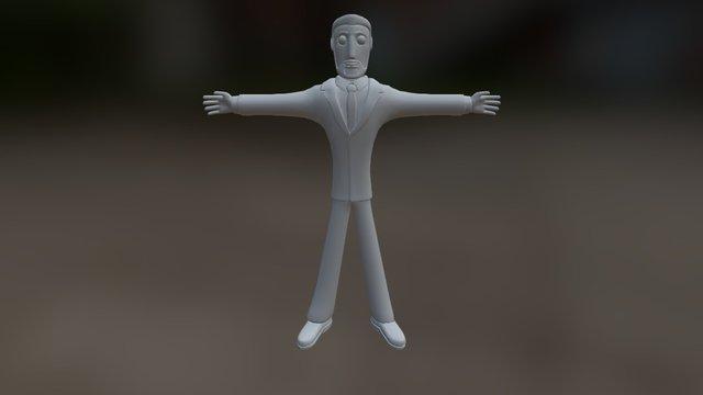 Modelo personaje 4 proyecto creativa 3D Model
