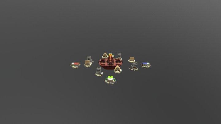 Arena test 3D Model