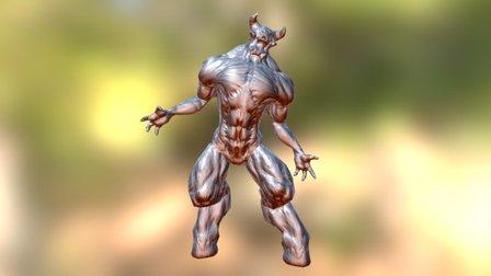 Baron_Sighted_Roar 3D Model