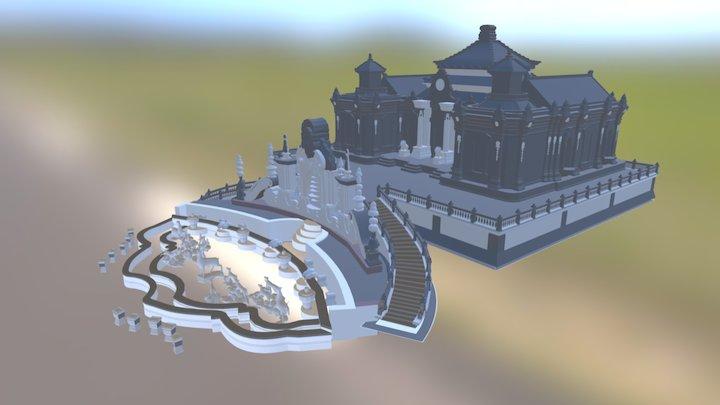 圆明园 3D Model