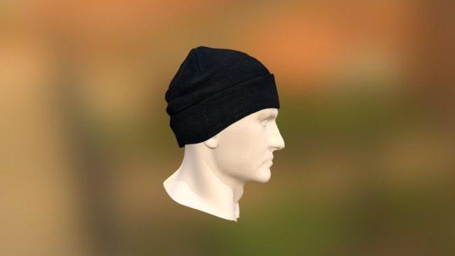 Knitted Cap. 3D Model
