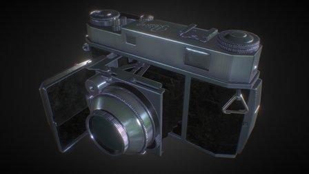 Kodak Retina IIa 3D Model