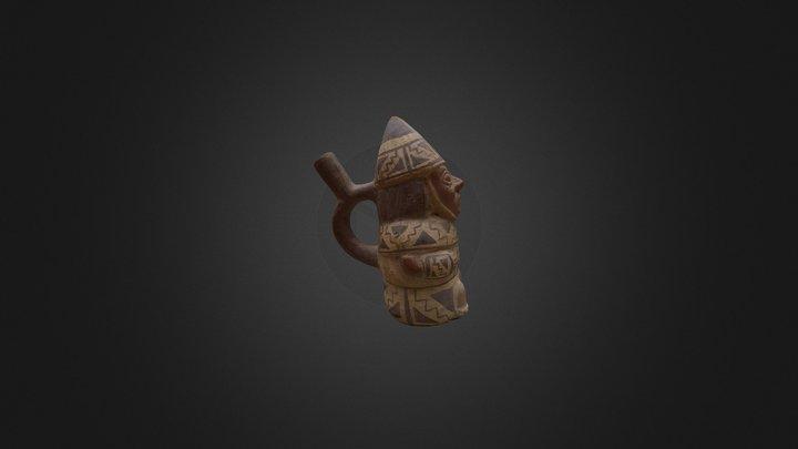 Guerrero Moche_ replica 3D Model