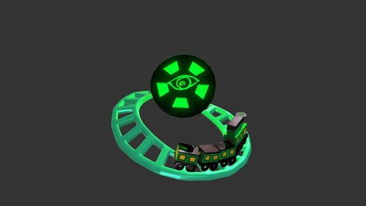 The Midnight Train 3D Model