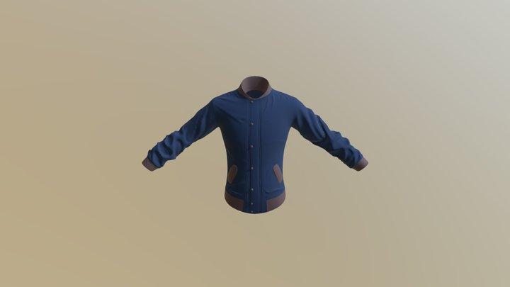 BomberJacket 3D Model