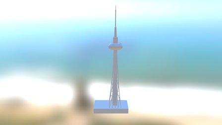 TV Station 3D Model