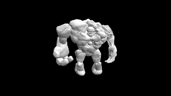 Model_idle_01 3D Model