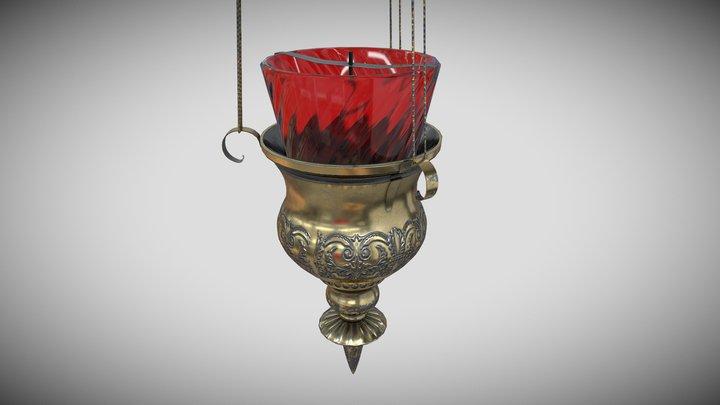 Icon Lamp (навесная лампада) 3D Model