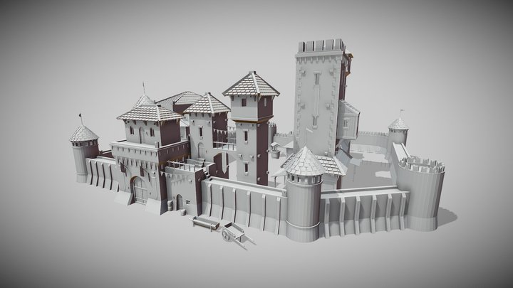 Castle (another old project) 3D Model
