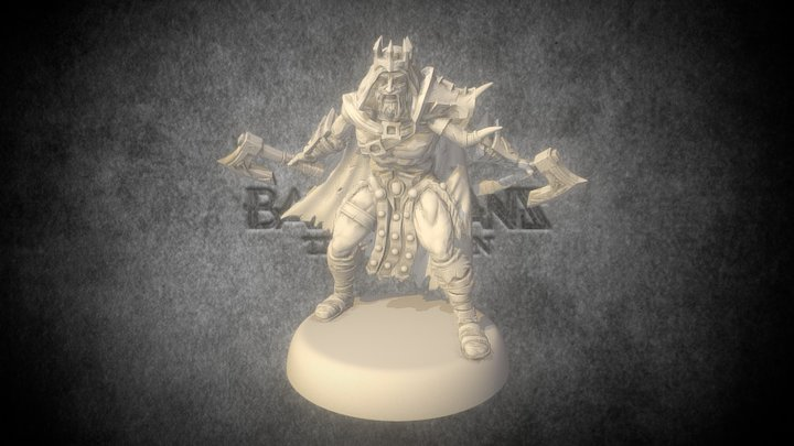 Cabal of Dusk - Barbarians: the Invasion 3D Model