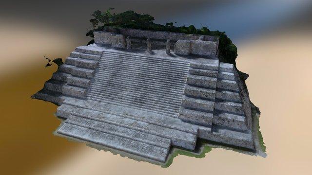 Moon Temple 3D Model