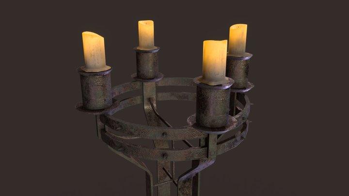 CandleHolder_skyrim 3D Model