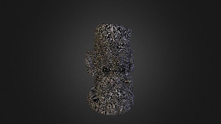 Zombie Hunter Head  3D Model