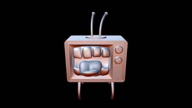 Mad TV 3D Model