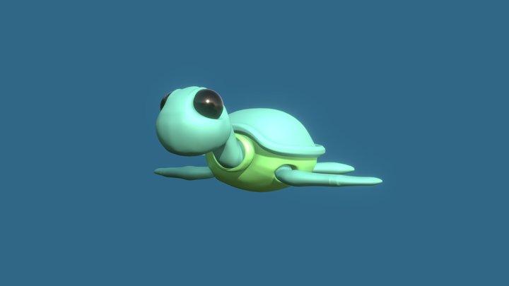 Toy turtle 3D Model