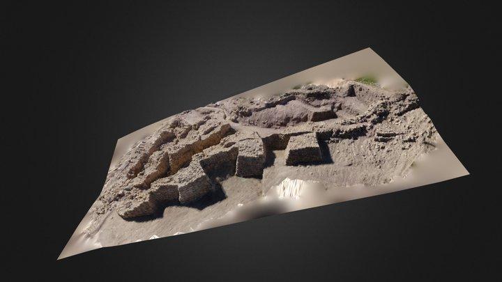 Muralla Argarica de la Bastida 3D Model
