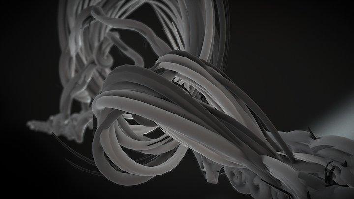 Tre Flip 3D Model