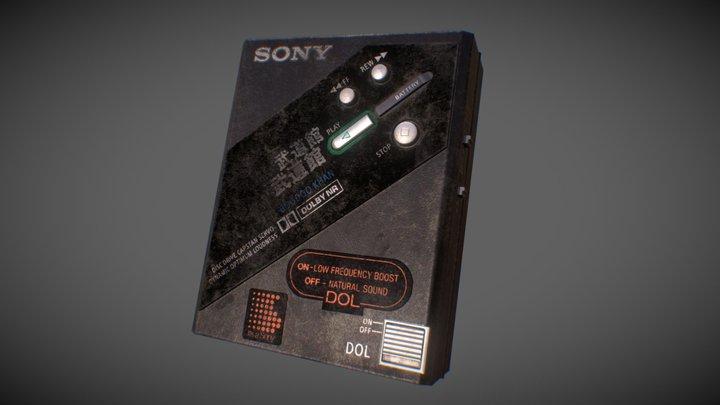 Sony WM-DD100 Boodo Khan Walkman 3D Model