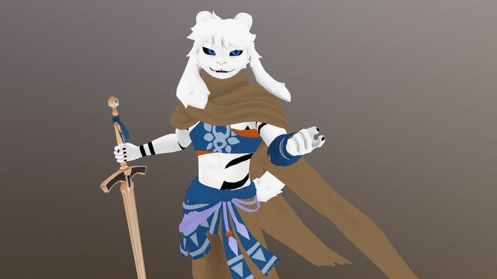 Rykah Tribal 3D Model