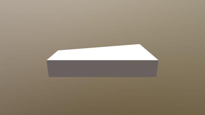 Horizontal Wing 3D Model