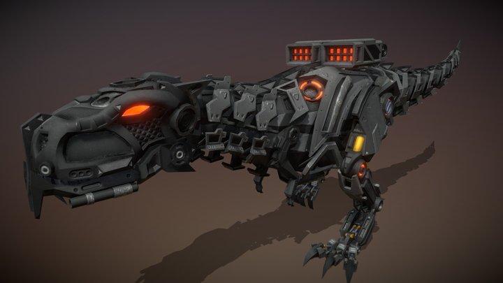 Tyrannosaurus Rex (Walk Cycle) 3D Model