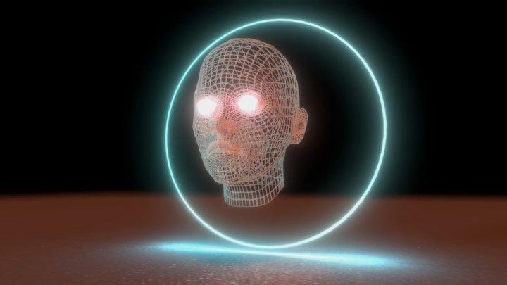 Wire Head 3D Model