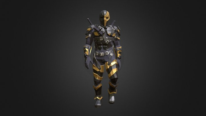 Deathstroke (Joe Manganiello) 3D Model