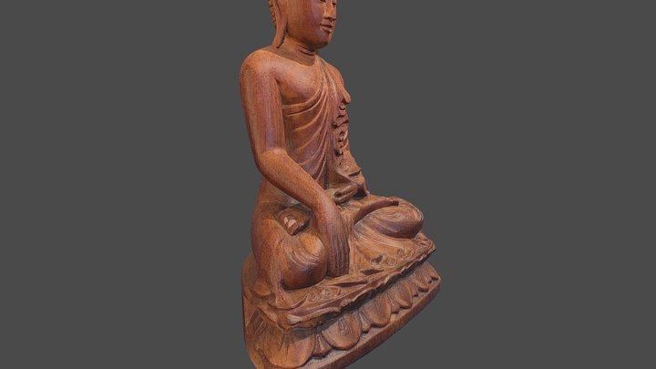 Buddha Statuette 3D Model
