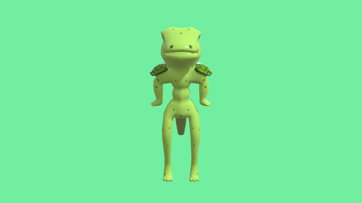 Repticect 3D Model