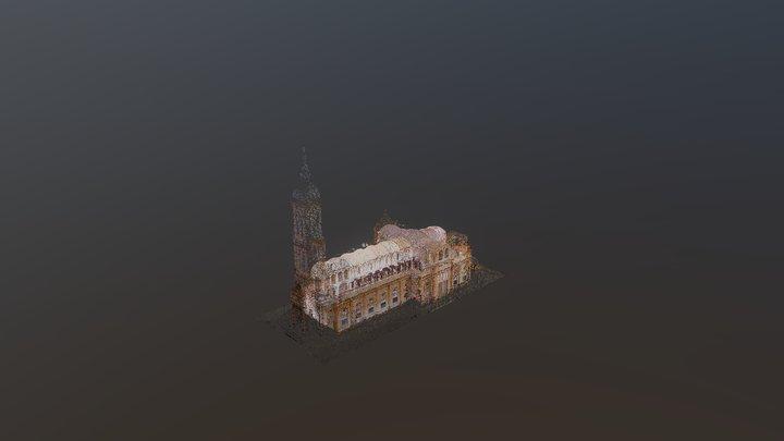 Thanh Nu Jean Darc Church_3Dmodelpointcloud 3D Model