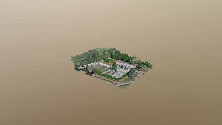 Cimetière 3D Model
