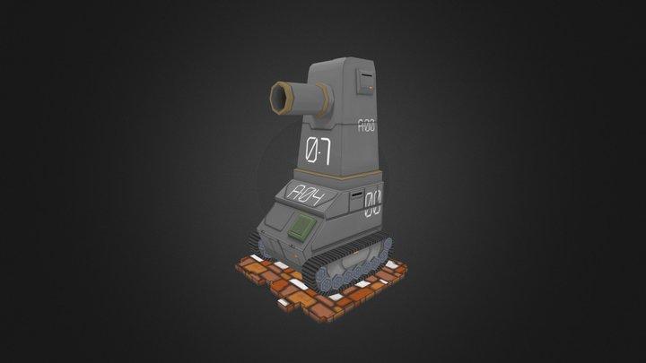 Standard Tank 3D Model