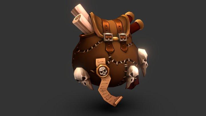 Skull bag 3D Model