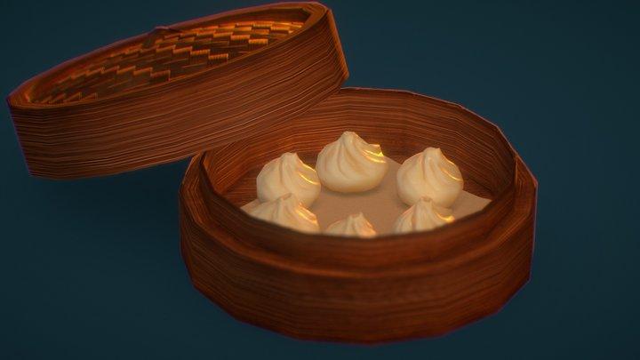 Dimsum Dumplings 3D Model