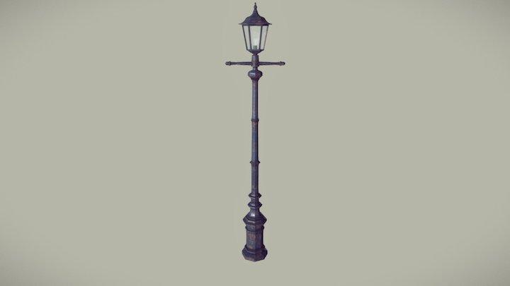 Antique Street Light 3D Model