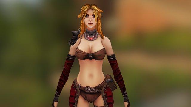 Scybell - The Legend of Arya 3D Model