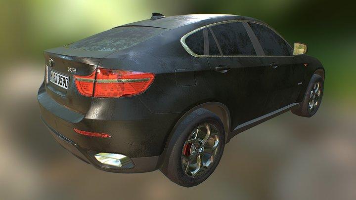 Bmw X6 Lowpoly Model 3D Model