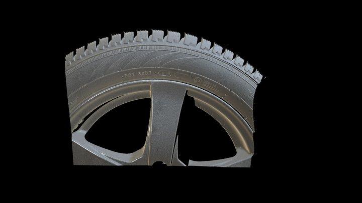 S: 3D Scan of Nokian Tire part 3D Model
