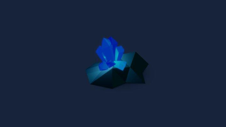 Quarantink - Day 8 - Crystal 3D Model