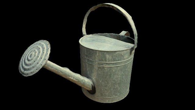 Regadera (watering can) 3D Model