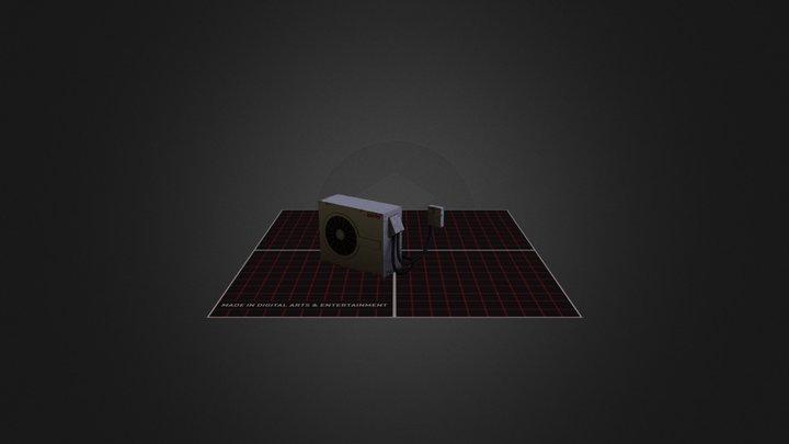 Airconditioner 3D Model
